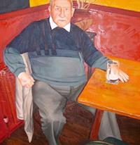 Old Man Frank...Oil on Canvas, Commission from 2002